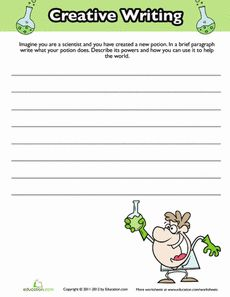 A Fun Dinosaurs Writing Prompt For Third Grade Or So  Early  Science Fiction Writing Prompt