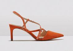 Sapatos Aguarela: ZARA