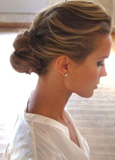 Marie Serneholt. Great updo.