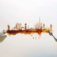 Sanatlı Bi Blog Bir Fincan Kahve, Kaşık ve Birbirinden Güzel 25 Sanat Eseri - Giulia Bernardelli 9