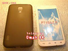 Jual Silikon Soft Case LG Optimus L7 ii P715 Dual Hitam (Black) Transparan | Toko Online Rame | KODE BARANG : 1614
