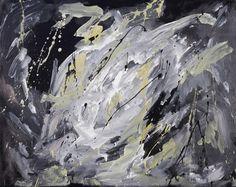 """Carla Rigato, """"Lucciole nel buio"""", 2014, acrilico su tela, 80x100.  Arte contemporanea #astrattismo #informale #arte #art #energiapura #color #contemporaryart #painting www.carlarigato.it"""
