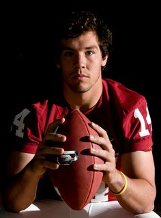 Sam Bradford, Heisman Trophy winner while at the University of Oklahoma. He became head QB of the STL Rams and is now QB for the Philadelphia Eagles in the NFL.