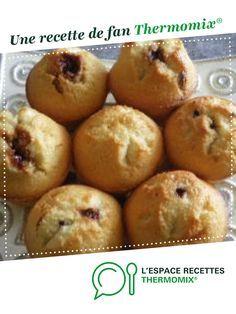 Financier cœur Nutella par christine MICHEL. Une recette de fan à retrouver dans la catégorie Desserts & Confiseries sur www.espace-recettes.fr, de Thermomix®.