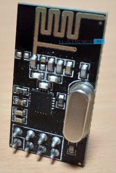 nRF24L01 Transceiver Module Nrf24l01 Arduino, Arduino Wireless, 3d Printer, Raspberry, Diy Electronics, Lab, Tips, Accessories, Blue Prints