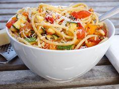 Summer In a Bowl Spaghetti