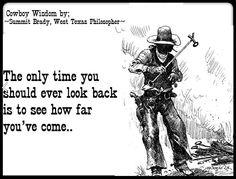 Cowboy Saying.