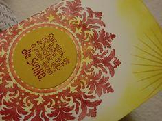 Grußkarte - Sonne im Herzen von Kreatives Herzerl auf DaWanda.com