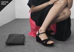 사뿐 : 가벼운 발걸음을 위한 여자들의 슈즈