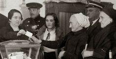 El día que las mujeres fueron a votar. 19 de noviembre de 1933