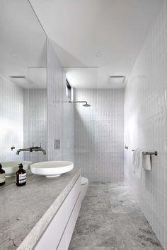 Modern Bathroom Design For Wood Wall Decor