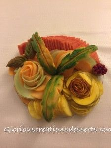 Fruit platter for a Birthday Party