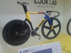 Gregory Bauge's track bike