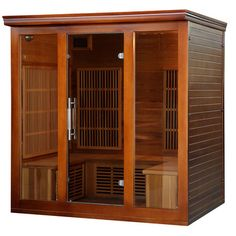 5 Person Carbon FAR Infrared Sauna - http://infraredsaunaspot.com/5-person-carbon-far-infrared-sauna-655051356/