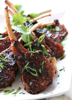 These Asian Lamb Lollipops are the greatest most delectable things on this green Earth. Juicy, tender, flavor Lamb bites are an instant hit. Lamb Chop Recipes, Meat Recipes, Asian Recipes, Cooking Recipes, Healthy Recipes, Ethnic Recipes, Turkish Recipes, Cooking Tips, Healthy Food