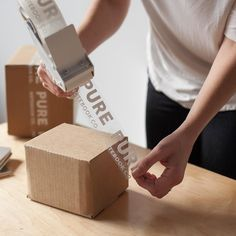 Why Custom Printed Cardboard Boxes Do It Better as Compared to Readily Available Cardboard Boxes is part of Ecommerce packaging, Custom tape, Brand packaging, Packaging design inspiration, Packaging d -
