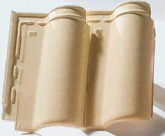 Americana Prime (25 x 43,3 cm), no tom marfim, da Cerâmica Legítima Ouro Pr...