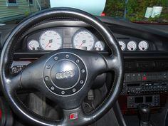 1995.5 S6 Audi Quattro. Turbo charged 5 cylinder 5 speed manual