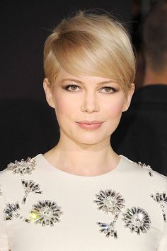 "Michelle Williams, 2013  ""I cut it for the one straight man who has ever liked short hair and I wear it in memorial of somebody who really l..."