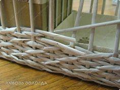 Мастер-класс Плетение Плетеночка Третья серия Трубочки бумажные фото 5