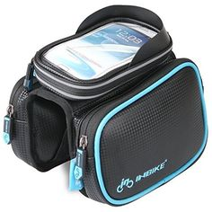 """ArcEnCiel Cycling Bike Bicycle Frame iPhone Holder Pannier Mobile Phone Case Bag Pouch For ≤ 5.5"""" Cellphone"""