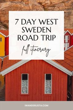 Best things to see and do on a 7 Day West Sweden Road Trip. See Gothenburg, stay in unique accommodations and enjoy the beautiful nature. Top Place, Bucket List Destinations, Sweden Travel, Gothenburg, Travel Inspiration, Travel Tips, Road Trip, Places To Visit, Good Things