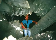 The crystal cavern was discovered within the same limestone body that hosts the silver-zinc-lead ore bodies exploited by the mine