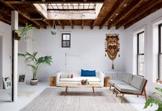 interior Erika Schroeder and Al Verik's house in Clinton Hill / photo by Thomas Loof