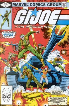 gi joe cover marvel number one | GI Joe (1982 Marvel) comic books