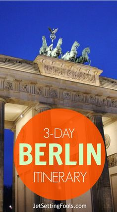 Berlin. Just the mention of the name conjures images of division and unity, war and peace, angst and optimism. While visiting the city, the horrific history is palpable, yet the mood is brightened by the vibrant and expressive side of Berlin.