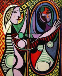 Cubism with Picasso. Teaching our art club the basic elements of the cubism style with examples from Georges Braque and Picasso! Kunst Picasso, Art Picasso, Picasso Paintings, Picasso Prints, Oil Paintings, Pablo Picasso Cubism, Picasso Collage, Pablo Picasso Artwork, Paintings Famous