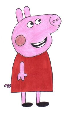 A nice and colourful Peppa Pig.