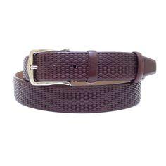 Brown Adjustable Leather Belt 120 cm (47.24 #handmadeatamazon #nazodesign