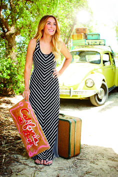 that maxi dress . love.