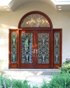 Pinecrest fine wood doors leaded glass doors hand-carved doors and made to & Pinecrest fine wood doors leaded glass doors hand-carved doors and ...