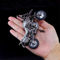 4.5Inches Cool Black Motor Diecast Model Toy Metal Motorcycle Motorbike Sale - Banggood.com Model Building, Building Toys, Laos People, Goods And Service Tax, Diecast Models, St Kitts And Nevis, Uganda, Motorbikes, Robot