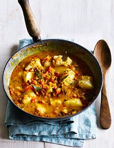 Fish Curry Recipe With Tomatoes and Tamarind