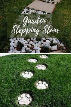 New DIY Garden Stepping Ideas #gardenrocks Garden Stepping Stones, Garden Steps, Kindergarten Crafts, Amazing Gardens, Cement, Planets, Master Bedroom, Home And Garden, Yard