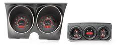 Dakota Digital Analog 67 Camaro Firebird w/Console Gauges Carbon Red VHX-67C-CAC #DakotaDigital