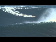 Garrett McNamara at Praia do Norte - Ride of the Year Nominee - Billabong XXL Big Wave Awards 2012