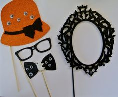 Halloween Boooo Photo Booth Party Props Hat with eyes by PICWRAP, $17.99