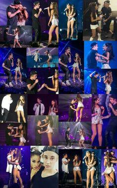 Ariana Grande and Justin Bieber Honeymoon Tour  So Cute..