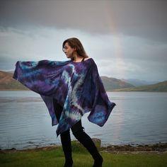 Silk Painting, Silk Scarves, Shibori, Painted Silk, Hand Painted, Tie Dye Skirt, Scarf Wrap, Hand Weaving, Artisan