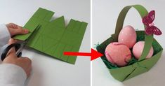 Frühlingsdeko für dein Zuhause: Bastle ein DIY-Osterkörbchen und werde kreativ!