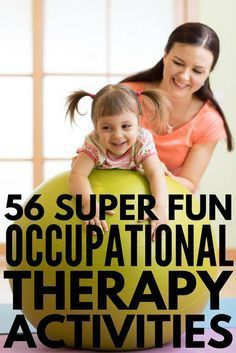 56 Occupational Therapy Activities for Kids | Whether your child has sensory processing challenges, struggles with fine motor, gross motor, and/or visual motor skills, needs help with handwriting, or needs core strengthening exercises, we have 56 fun learning activities that are perfect for kids with developmental delays like autism and sensory processing disorder. These pediatric OT ideas will not disappoint! #parenting #parenting101 #asd #autism #occupationaltherapy…