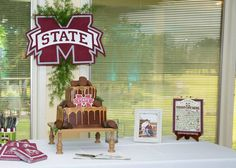 Wil's Mississippi State groom's table