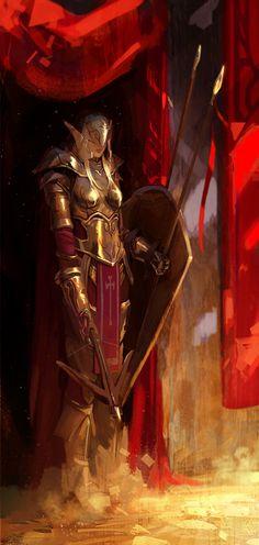 Warrior Guard by FinalKnight6.deviantart.com on @deviantART