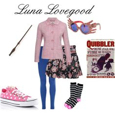 """Luna Lovegood"" by nearlysamantha on Polyvore"