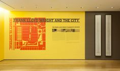 """Installation view of the exhibition """"Frank Lloyd Wright and the City: Density vs. Dispersal"""". February 1– June 1, 2014. © 2014 The Museum of Modern Art, New York. Photo Thomas Griesel"""