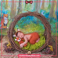 Ivy and fox theme concept. Newborn Baby Photography, Newborn Photos, Baby Photos, Forest Theme, Baby Ideas, Ivy, Woodland, Photo Shoot, Woods